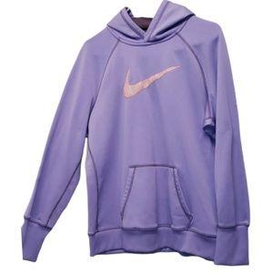 💜Purple Nike Sweatshirt Women's XL Therma-Fit
